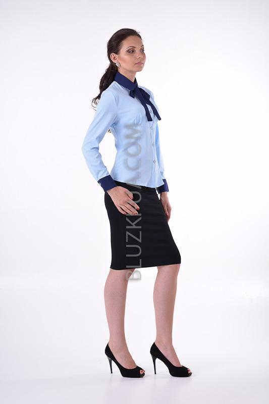 Купить блузку с бантом для женщин