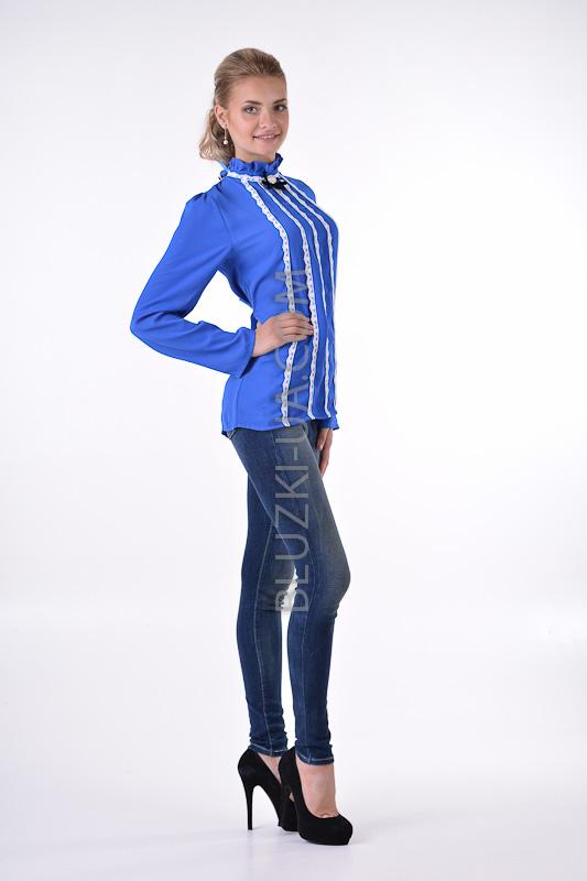 Купить Синюю Блузку В Самаре