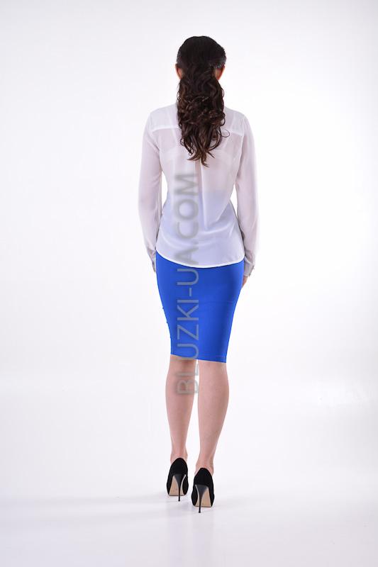 Белая прозрачная блузка доставка