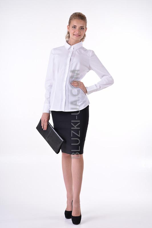 f2b24e5350d ... Белая женская блузка Reitmans - классическая деловая блузка